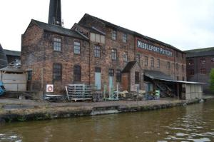 Middleport Pottery, Stoke-on-Trent, Staffordshire is currently the focus of a major restoration project led by the Prince's Regeneration Trust